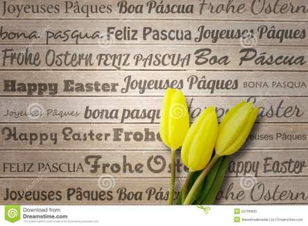 composite-image-happy-easter-different-languages-against-wooden-surface-planks-52709900