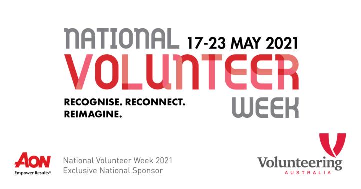 Banner for national Volunteer Week 2021